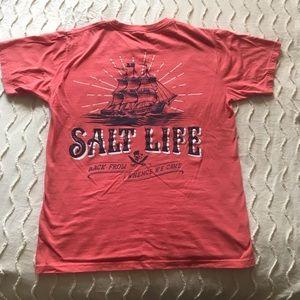 Salt Life unisex coral tee
